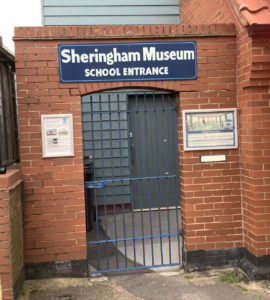School Entrance to Sheringham Museum