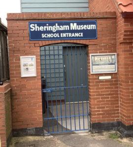 School Entrance to Sheringham Museum